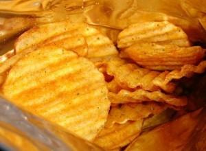 Potato chips, lady rosetta potato chips